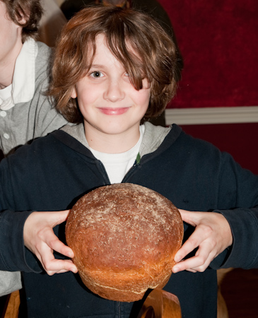 D with the anadama bread