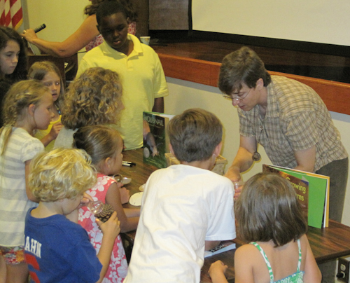 Oxford Public Library Kids Gather