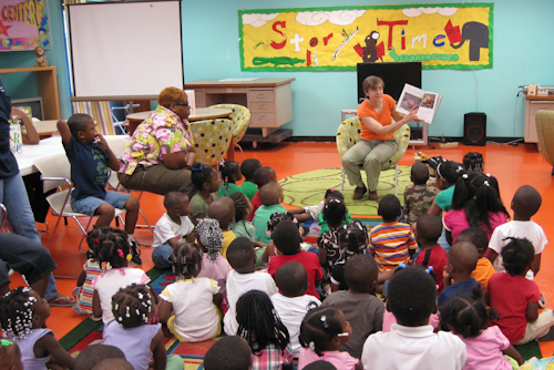 Charles Tisdale Library Story Time