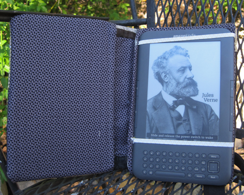 open kindle cover sewing