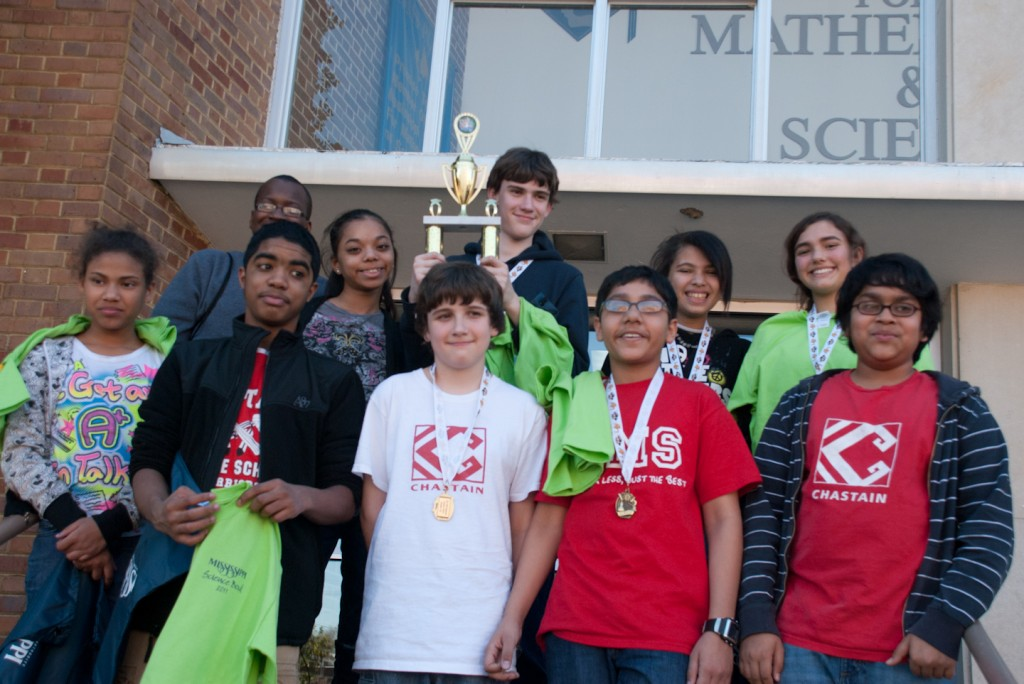 Chastain MIddle School Science Quiz Bowl Team