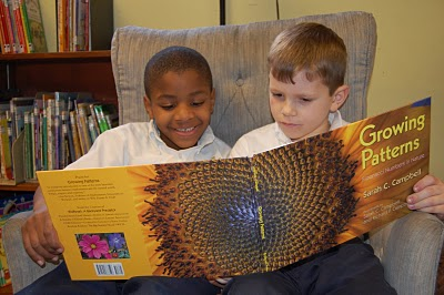 kids reading Growing Patterns