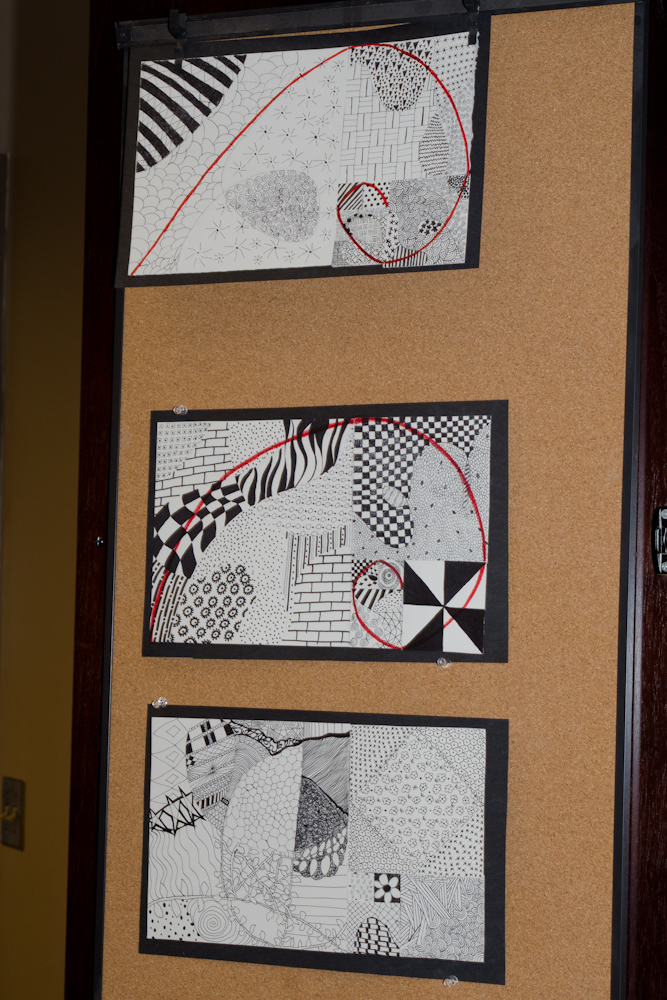 display zentangles