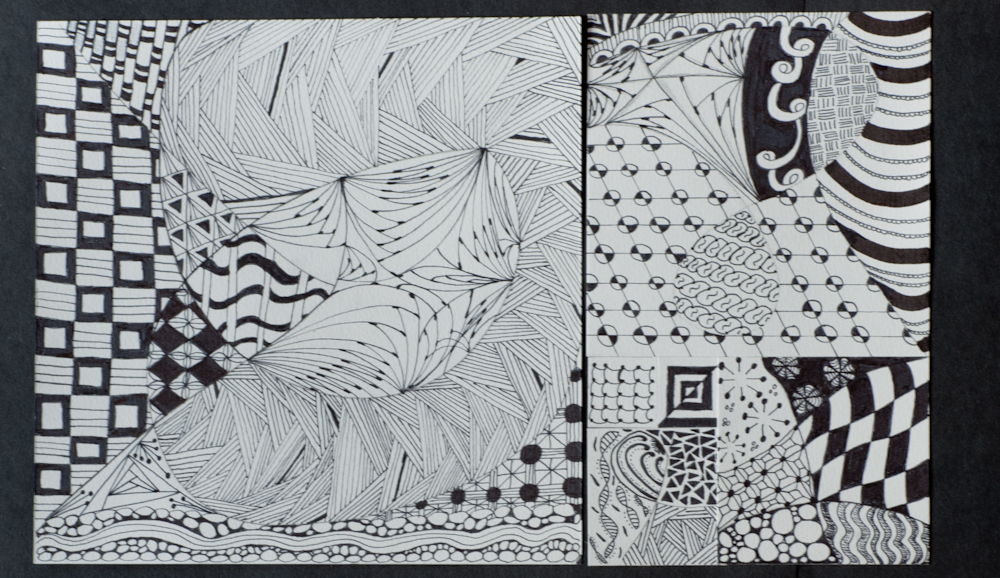 Fibonacci Zentangle