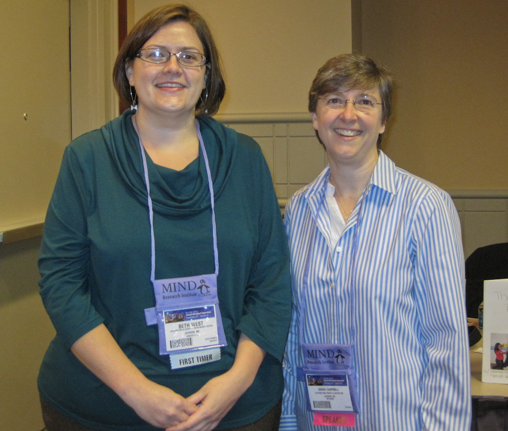 beth and sarah at nctm12