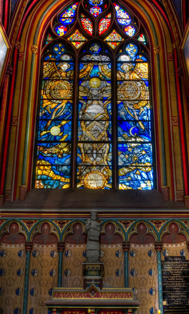 stained glass window Orleans