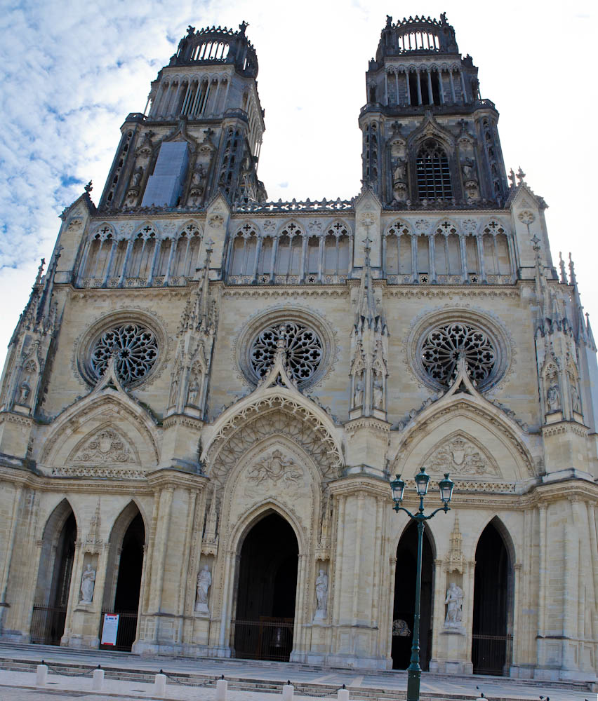 orleans cathedral outside