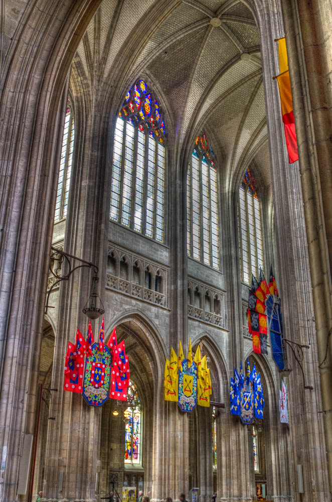 banners orleans cathedral