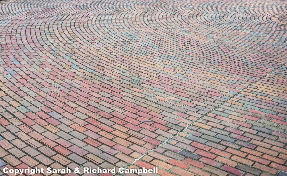 curved bricks copyright